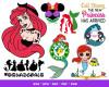Ariel SVG 146+ Bundle, Ariel Cricut, Ariel Clipart