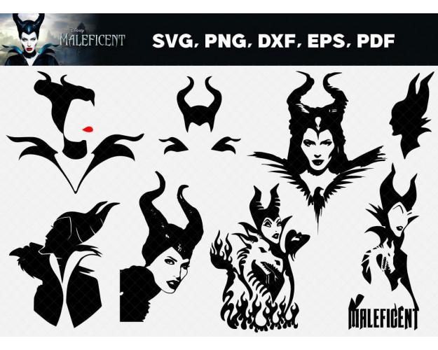 Maleficenta SVG 37+ Bundle, Maleficenta Cricut, Maleficenta Clipart