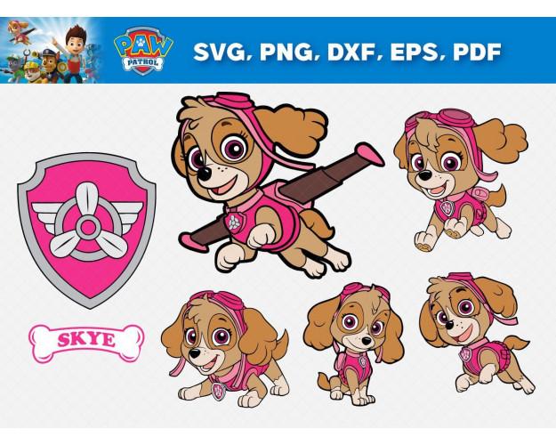 Paw Patrol SVG 52+ Bundle, Paw Patrol Cricut, Paw Patrol Clipart