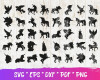 Unicorn SVG 150+ Bundle, Unicorn Cricut, Unicorn Clipart