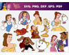 Beauty And TheBeast SVG Bundle 70+ SVG, PNG, DXF, PDF