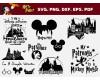 Harry Potter SVG 17+ Bundle, Harry Potter Cricut, Disney Clipart