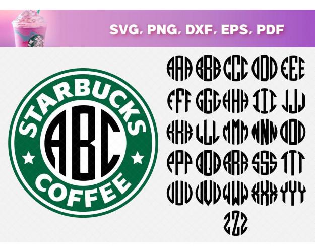 Starbucks SVG Bundle 200+ SVG, PNG, DXF, PDF