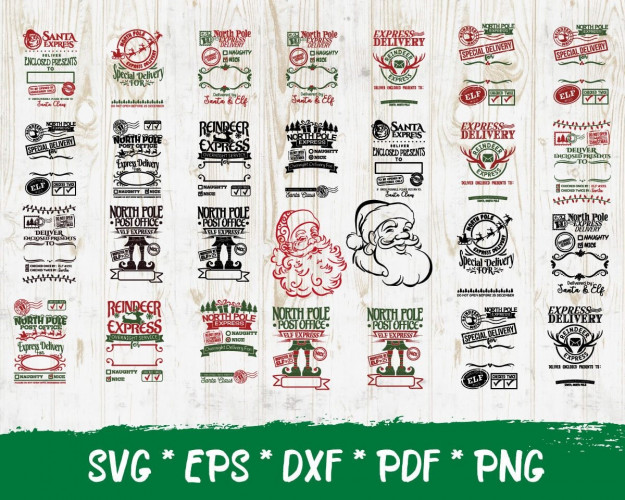 Santa Claus SVG 300+ Bundle, Santa Claus Cricut, Santa Claus Clipart