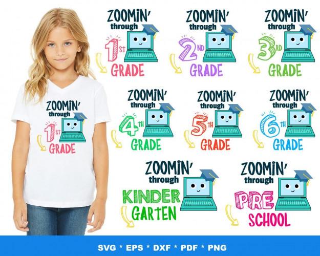 Zoomin Through SVG 40+ Bundle, Zoomin Through Cricut, Clipart