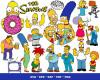 The Simpsons SVG Mega Bundle 1000+ SVG, PNG, DXF, PDF 2.0