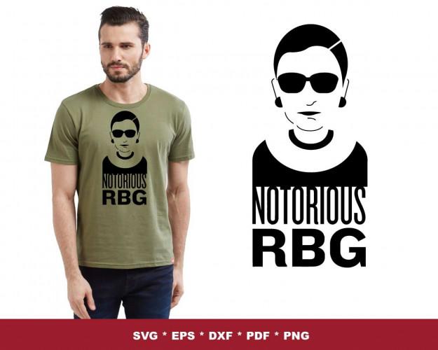 RBG SVG 150+ Bundle, RBG Cricut, RBG Clipart