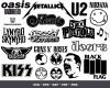 Rock Band Logo SVG 400+ Bundle, Rock Band Cricut, Rock Band Clipart
