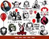 Horror Movies SVG 350+ Bundle, Horror Movies Cricut, Horror Clipart