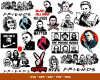 Michael Myers SVG 100+ Bundle, Michael Myers Cricut, Michael Clipart