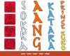The Last Airbender SVG Bundle 100+ SVG, PNG, DXF, PDF 2.0
