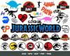 Jurassic Park SVG 400+ Bundle, Jurassic Park Cricut, Clipart