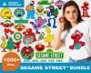 Sesam Street SVG Bundle 1000+ SVG, PNG, DXF, PDF 1.0