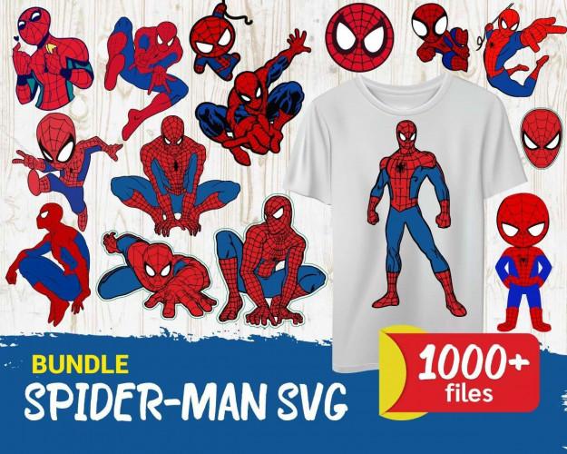 Spiderman SVG Bundle 1000+ SVG, PNG, DXF, PDF 3.0