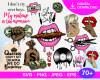 Makeup SVG 70+ Bundle, Makeup Cricut, Makeup Clipart