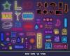 Neon Style Signs SVG 100+ Bundle, Neon Cricut, Neon Clipart