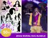 Jenni Rivera SVG 50+ Bundle, Jenni Rivera Cricut, Jenni Clipart