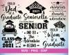 Graduation SVG 100+ Bundle, Graduation Cricut, Graduation Clipart