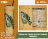 Tumbler Camo Bass Fishing Sublimation Design Digital Download PNG