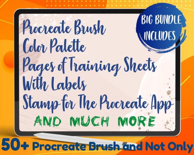 Procreate Brush 50+