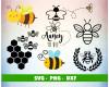 Bee SVG 100+ Bundle, Bee Cricut, Bee Clipart