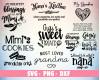 Grandma SVG 100+ Bundle, Grandma Cricut, Grandma Clipart