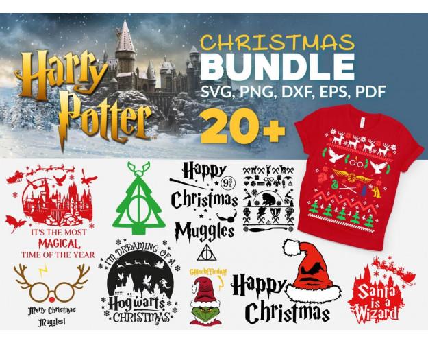 Harry Potter SVG 1500+ Bundle, Harry Potter Cricut, Harry Clipart