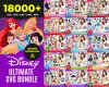 Disney SVG 18000+ Bundle, Disney Cricut, Disney Clipart