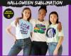 Halloween Sublimation PNG Bundle